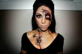 ideas with liquid latex makeup sfx diy spider queen makeup use