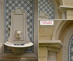 outdoor wall mounted fountain
