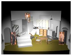 Diary Of Anne Frank Set Design Theater Sets By R Dean Barker At Coroflot Com