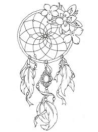Pictures Of Dream Catchers To Draw Printable Adult Coloring Pages Dreamcatchers Preschool To Beatiful 54