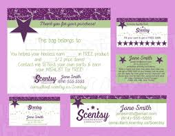 scentsy business card template business card sle scentsy gift certificate