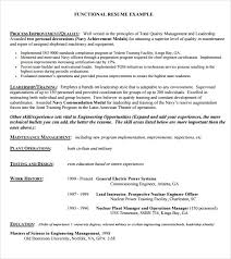 Proper Resume Format Examples Gorgeous Gallery Of Sample Functional Resume 48 Documents In Pdf Functional