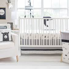 home nursery design bedding little black bear crib bedding set