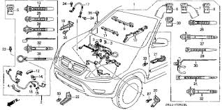 wiring diagram for 2002 honda crv the wiring diagram honda online store 2002 crv engine wire harness parts wiring diagram