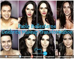 paolo ballesteros celebrity makeup transformation