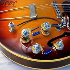 kit control electro cable es 335 vintage wiring harness gibson image is loading kit control electro cable es 335 vintage wiring