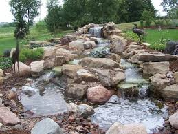Small Picture Fantastic Yard Waterfall Backyard Yard Ponds Waterfalls Designs