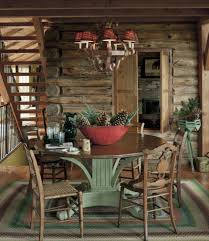 Log Cabin Living Room Concept Awesome Design