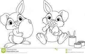 Easter Bunny Coloring Pages Online Easter Bunny Face Coloring Pages