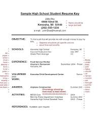 resume for college student with no experience resume examples college student sample for high school students with