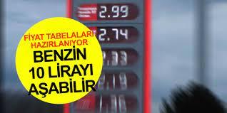 Benzin fiyatı 10 lirayı aşabilir! İstasyonlarda hareketlilik