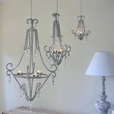 stupendous tea light chandelier candle holders hanging candles lighting uk