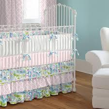 painted paisley crib bedding