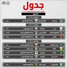 جدول مباريات الدوري المصري بعد استئناف النشاط – قناة الغد
