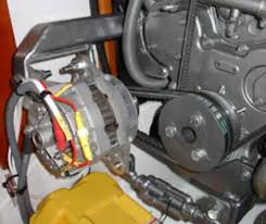 yanmar alternator upgrades Old 2Wire Alternator Wire Connections we fit most production boats