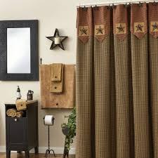 pieced star shower curtain
