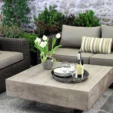 Floating Coffee Table Floating Sq Coffee Table Modern Outdoor Furniture Terra Patio