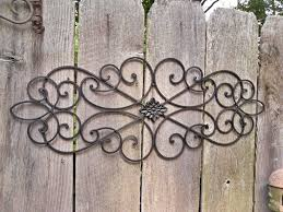appealing large outdoor wrought iron wall decor as well as outdoor metal wall art design outdoor metal wall art design x vintage large wrought iron wall art