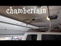 chamberlain 1 2 hp garage door openerchamberlain liftmaster 12 horsepower Garage Door opener  YouTube