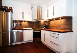 Lovable Modern White Wood Kitchen Cabinets Ideas About White