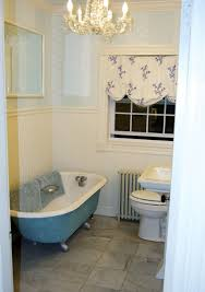 astounding bathroom decoration design with painted clawfoot tub amazing nautical bathroom decoration with oval blue