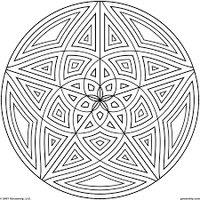 awesome amazing circle pattern coloring pages cool 1286 unknown