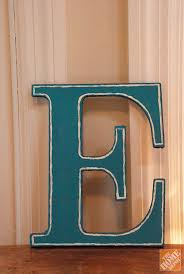 Wooden Letters Design Diy Gift Ideas Decorated Wooden Letters The Home Depot