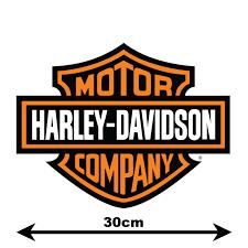 harley davidson logo vinyl wall art