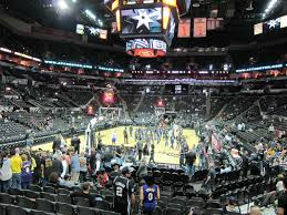 San Antonio Spurs At T Center Seating Chart Interactive
