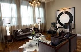 office curtain ideas. Sheer Curtain Ideas Living Room Contemporary With Area Rug Black Armchairs Office