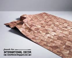 new collection of eco friendly wooden carpet and rugs designs