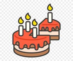 Birthday Cake With Candle Emoji Icon Emoji Kue Ulang Tahun Hd Png
