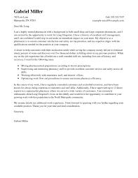 Best Pharmacist Cover Letter Examples Livecareer Pharmacy