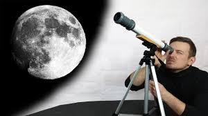 diy telescope to see the moon for 20