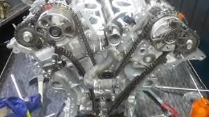 Toyota _ Land Cruiser 2014 engine timing chain _ Prado v6 engine ...