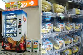 Japanese Food Vending Machines Custom Japan's First Banana Vending Machine Debuts In Tokyo Daily Onigiri