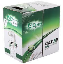 Купить <b>AOpen</b> UTP CAT5E 305M ANC504-40CU за 4 643,00 ₽ в ...