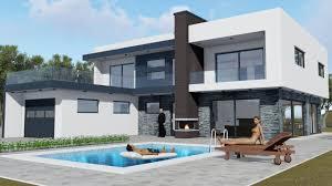 modern house. Delighful House Luxury Modern House 3d Model Dae 2 Intended Modern House A