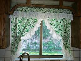 Kitchen Curtain Designs Kitchen Door Curtain Ideas Brown Gloss Paint Kitchen Cabinet