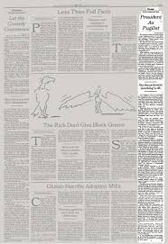 essay president as pugilist the new york times the article as it originally appeared
