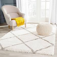 Living Room Rugs Walmart Safavieh Hudson Amias Power Loomed Shag Area Rug Walmartcom