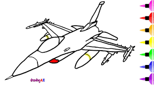 Small Picture Fighter Jet Toys Coloring Pages for Kids Dinosaur Shark Drawing