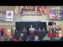 National Night Out Conference Live At The Sames Auto Arena With Lwa In Attendance
