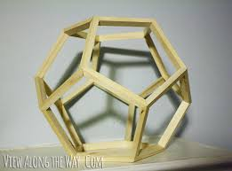 dodecahedron pentagon pendant
