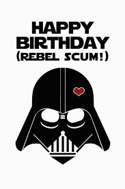 Star Wars Birthday Invitations Printable Starwars Birthday Card Birthdaybuzz
