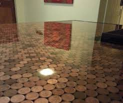 Resin Kitchen Floor Coin Resin Countertop 5 Steps With Pictures