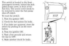 2004 ford f150 no power to fule pump Inertia Switch Wiring Diagram check the inertia switch first, it gets feed from the pump relay do you have good spark at the plugs? ford inertia switch wiring diagram