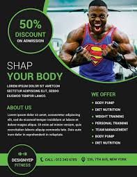 Training Flyer Templates Free Personal Trainer Flyer Template Rosejuice Info