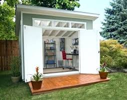garden shed office. Small Backyard Shed Ideas Garden Designs And Plans Home Office Design Living Using