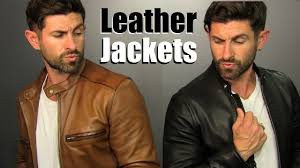 where to badass leather jackets this season 4 badass ways to wear them
